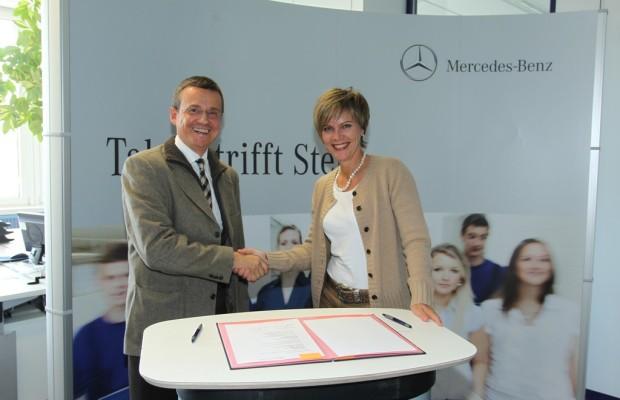 Mercedes-Benz kooperiert mit Mädchenrealschule