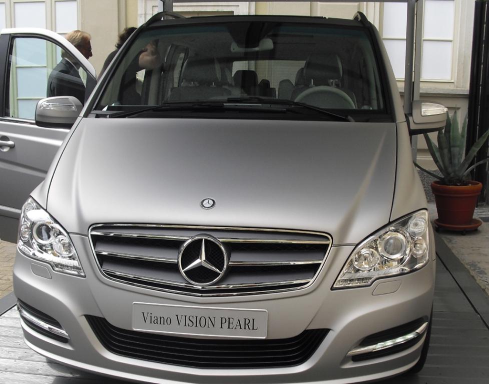 Mercedes-Van Viano Vision Pearl. Fotos: Koch