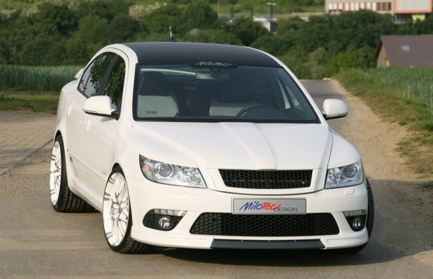 Milotec tunt den Škoda Octavia RS