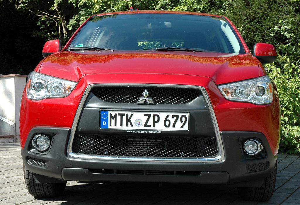 Mitsubishi ASX: Blick auf die Frontpartie.
