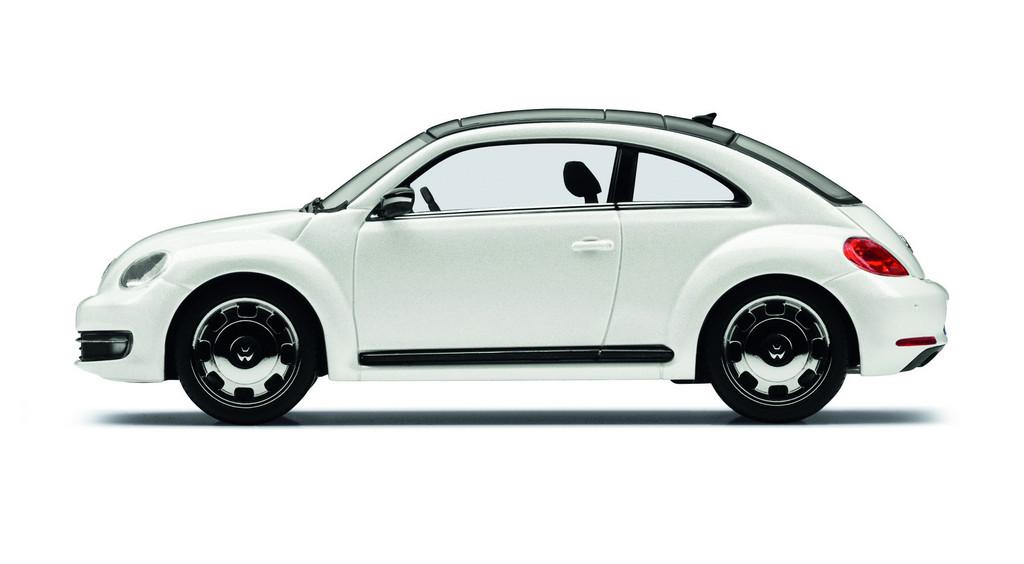 Modellauto Volkswagen Beetle.