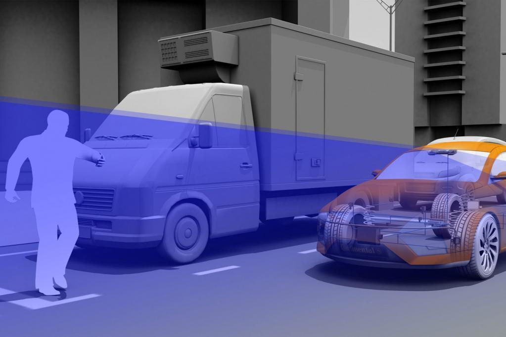 Moderne Fahrerassistenzsysteme können helfen, Fußgängerunfälle zu vermeiden.