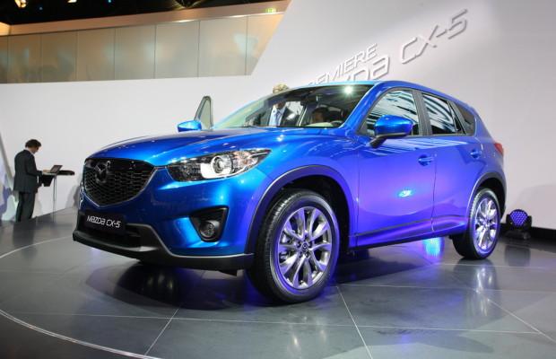 Neuer Stahl debütiert im Mazda CX-5