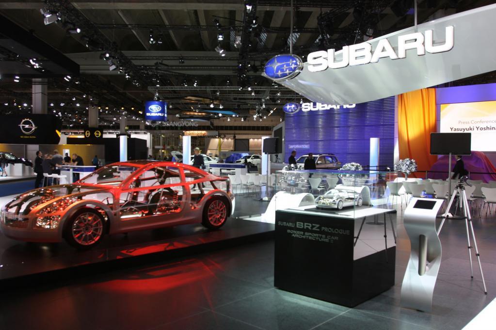 Neuer Subaru Sportwagen mit Heckantrieb
