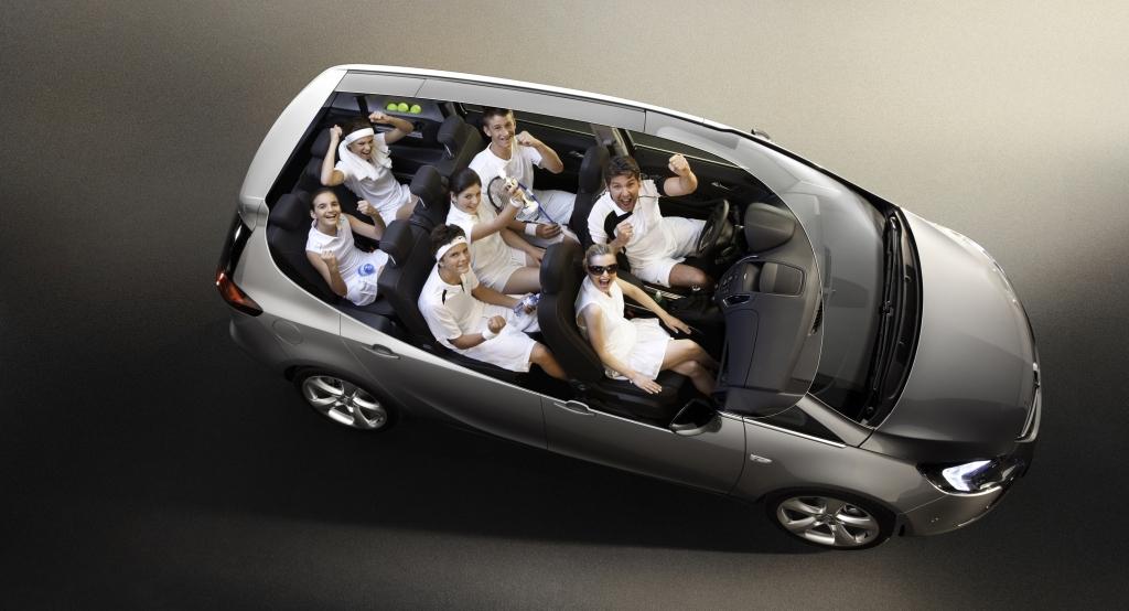 Opel will mit dem Zafira Tourer neue Standards setzen