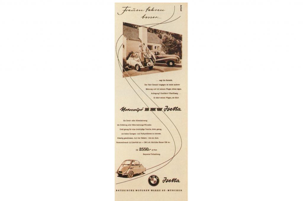 Parallel wurde die Isetta beworben