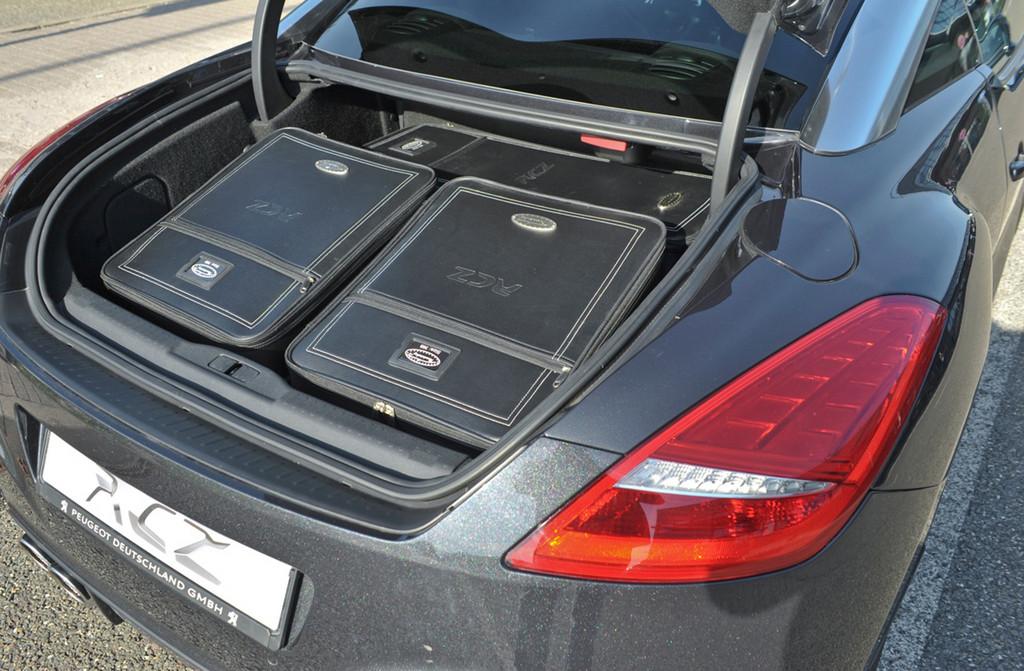 Peugeot RCZ-Kofferset.