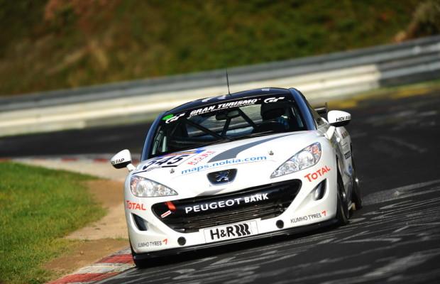 Peugeot RCZ bestes Dieselfahrzeug der VLN-Meisterschaft