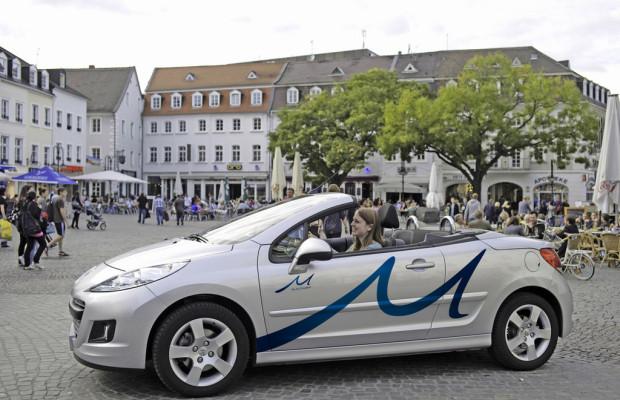 Peugeot und DB Rent vereinbaren Zusammenarbeit