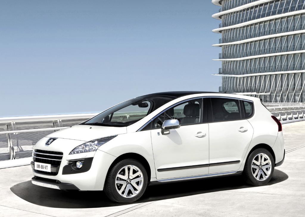 Peugeots neuer 3008 Hybrid4 macht schon äußerlich eine gute Figur.