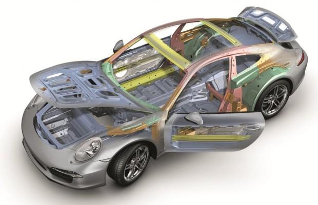 Porsche-Leichtbau im neuen 911 - Der richtige Material-Mix macht´s