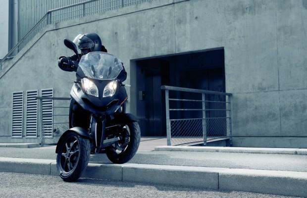 Quadro 350 D: MSA nimmt dreirädrigen Motorroller ins Programm