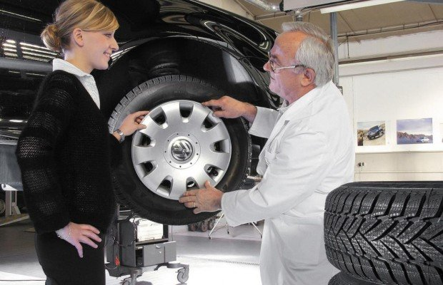 Ratgeber Reifenwechsel - Gut gelagert