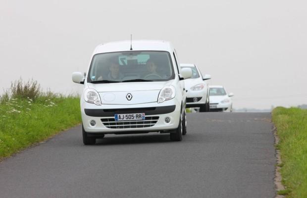 Renault mit Elektrofahrzeugen auf der