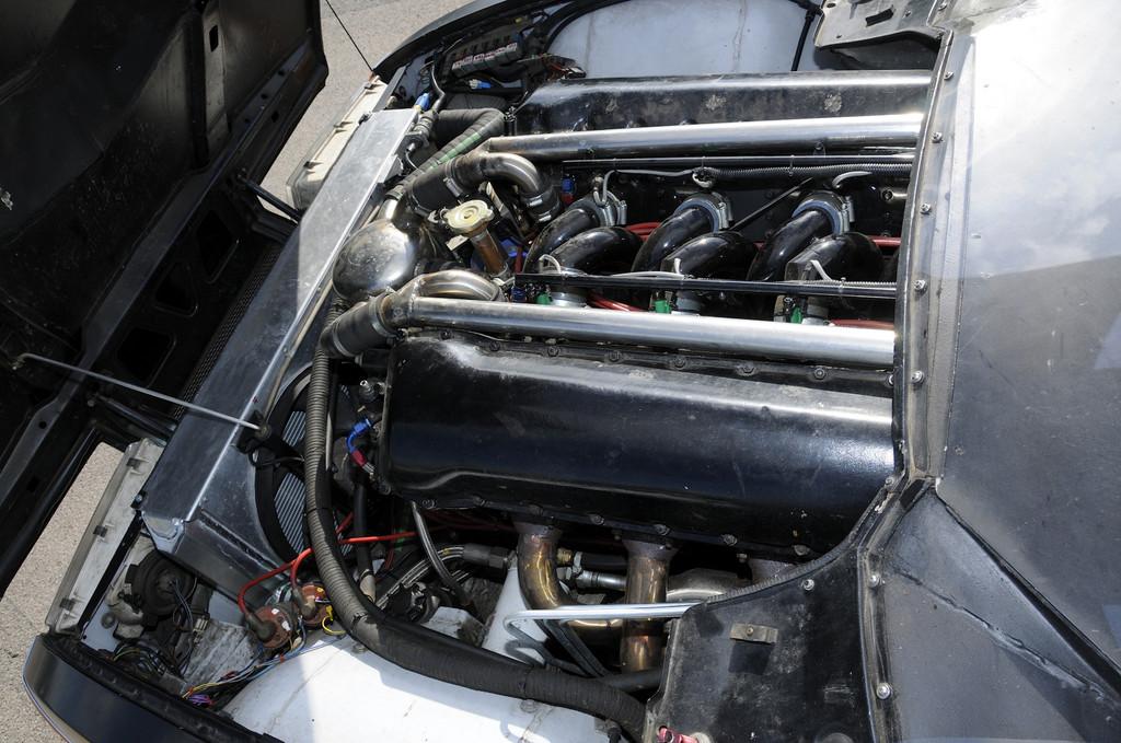Rover SD-1 mit 27-Liter-Zwölfzylinder.