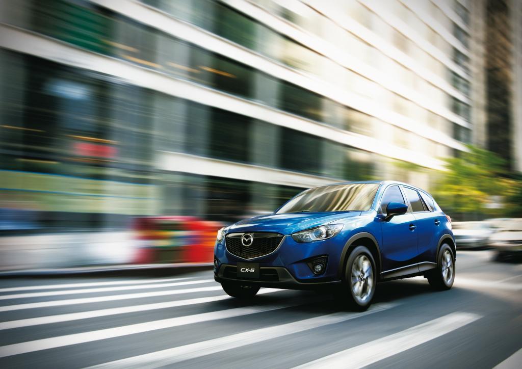 Sauberer Mazda-Dieselmotor