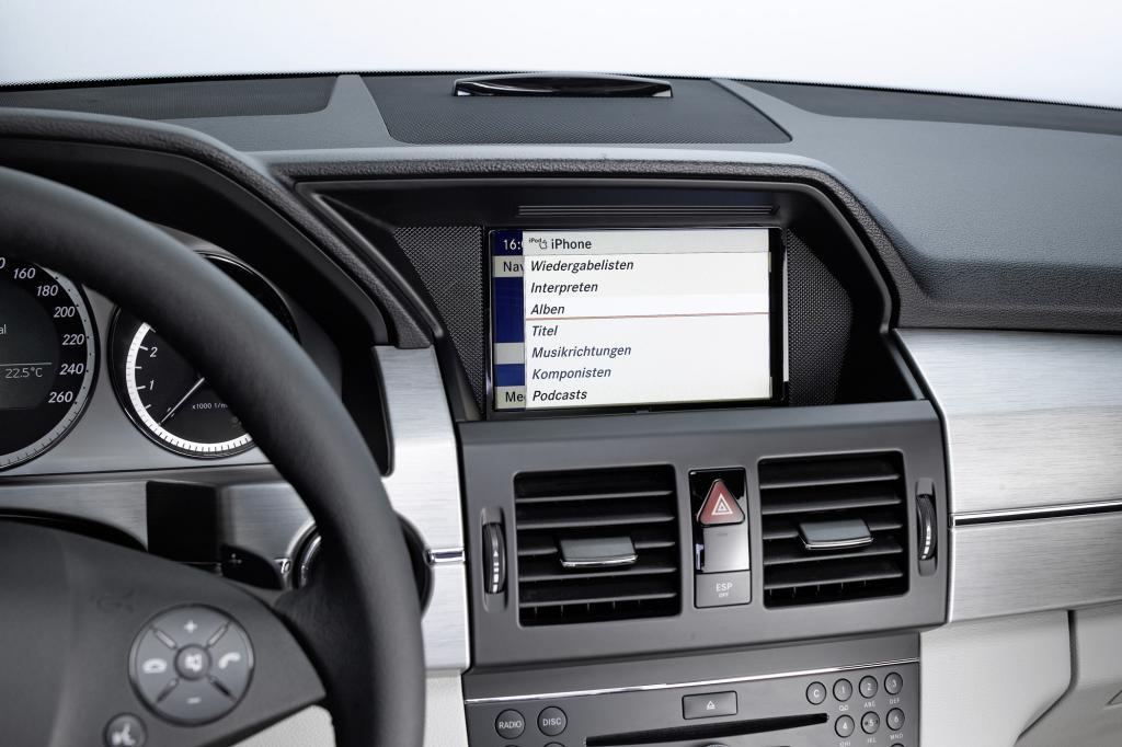 Schon für die neue B-Klasse kann die jüngste Weiterentwicklung von des Multimedianavigationssystems Comand Online geordert werde