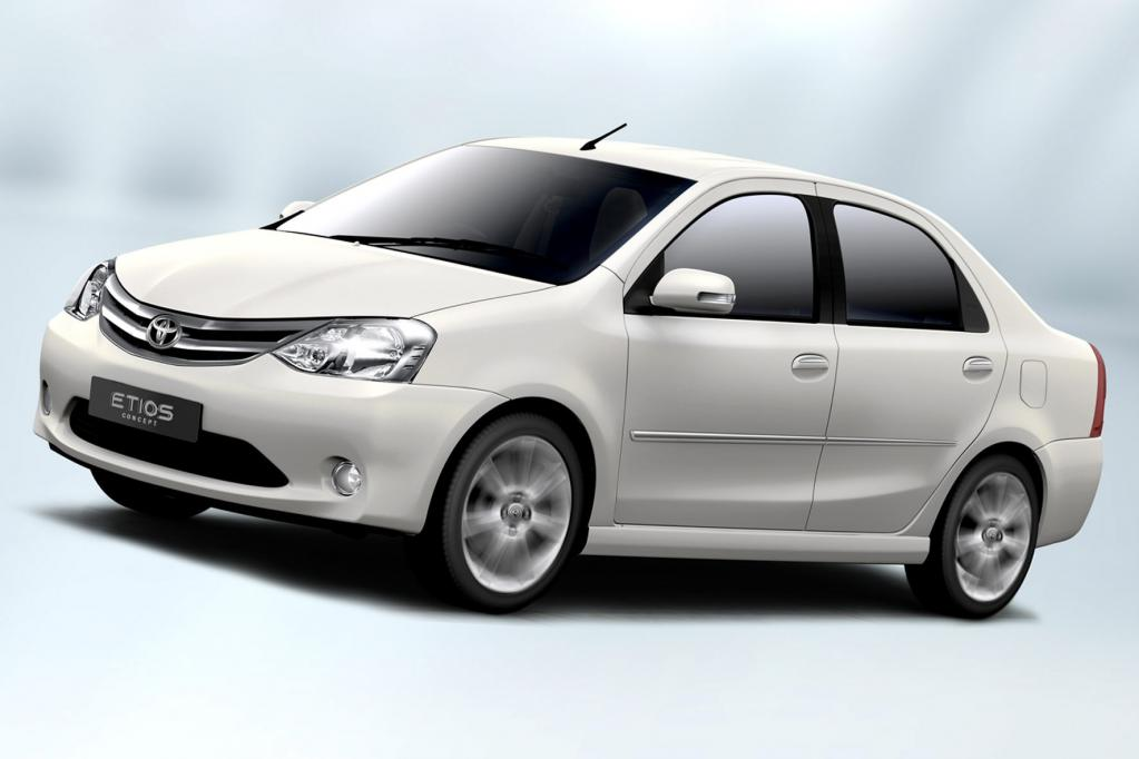 Toyota Etios: Export nach Südafrika