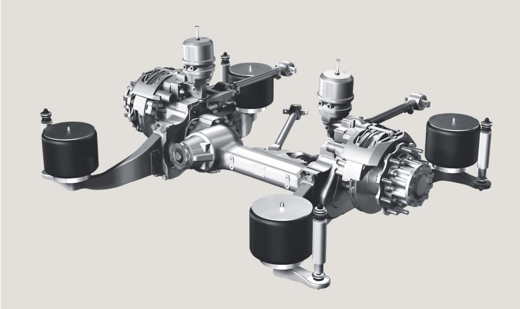 Ungehinderter Passagierfluss: Die ZF-Portalachse AV 132 ermöglicht eine durchgängige Niederflurigkeit im ganzen Fahrzeug.