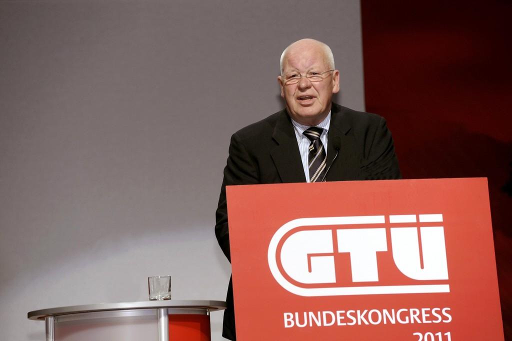 Uwe Palsherm, Vorsitzender der GTÜ-Gesellschafterversammlung.