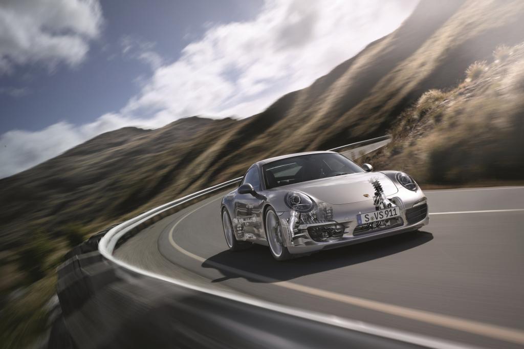 Viel Technik macht den neuen Porsche 911 schneller und sparsamer als seinen Vorgänger