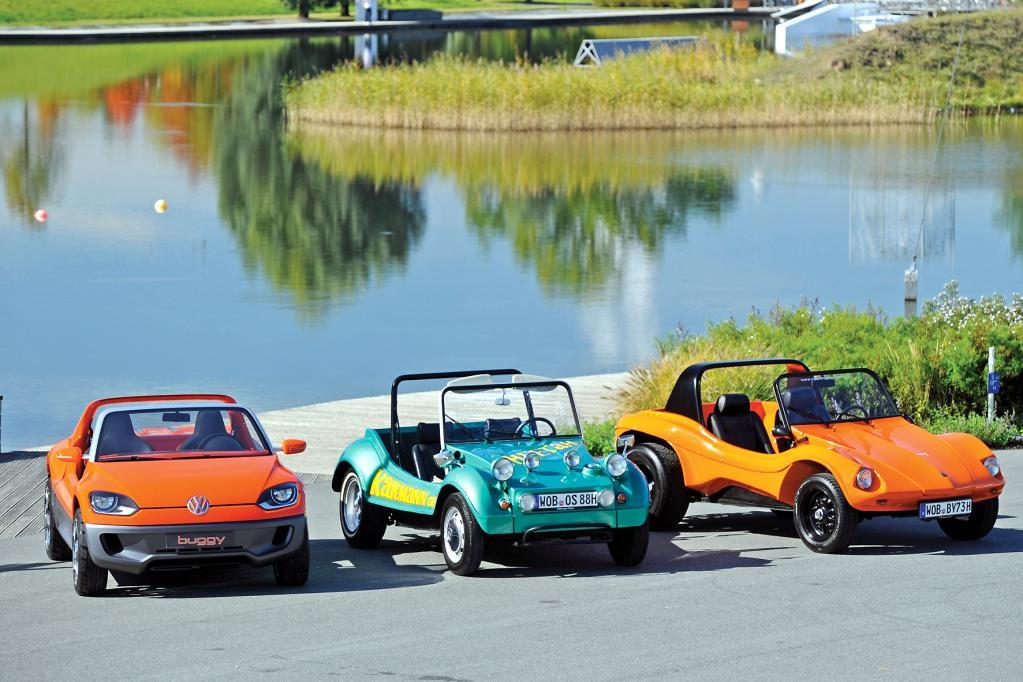 Vom Käfer zum Buggy: Sommer, Strand und Spaßmobil