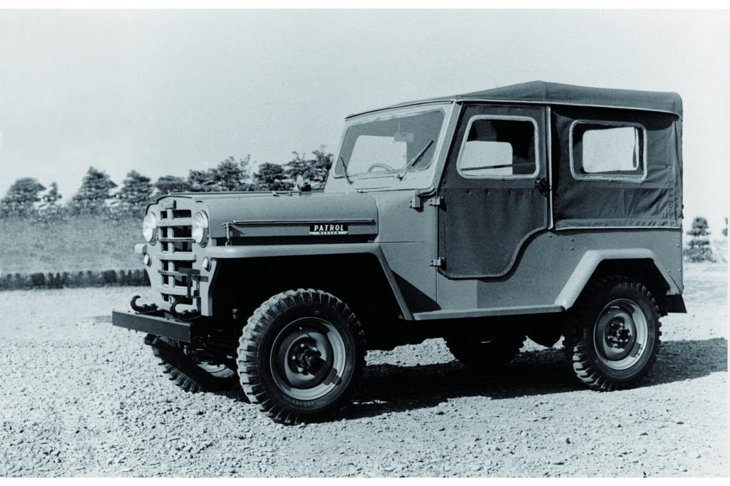 Vorbild für den Patrol war der US-Jeep
