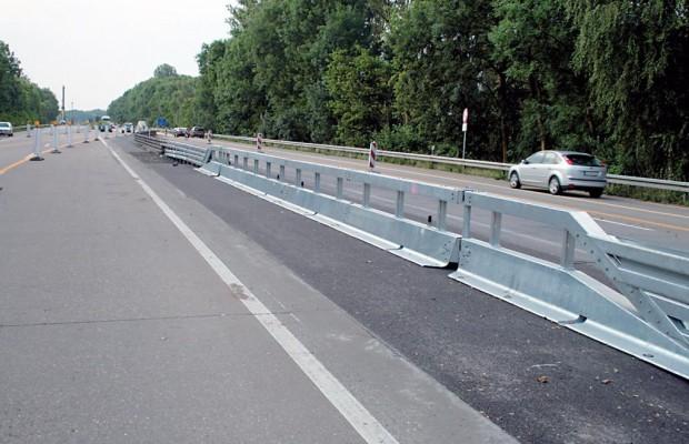 Wenig Bedarf für Notöffnungen auf Autobahnen