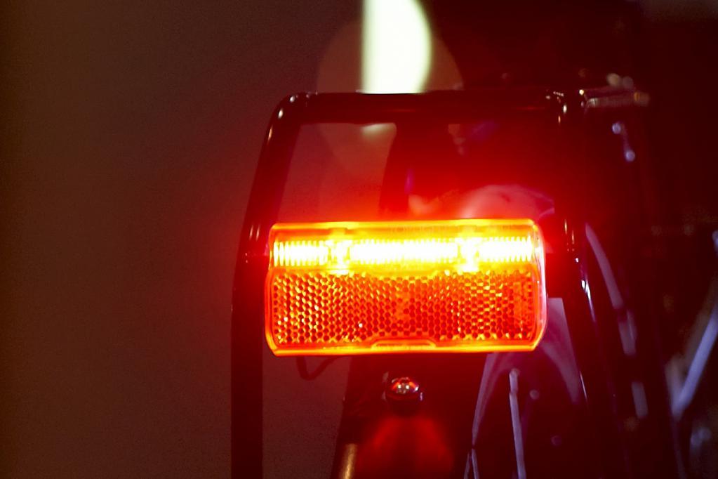 Ältere Fahrräder auf moderne Beleuchtung nachrüsten