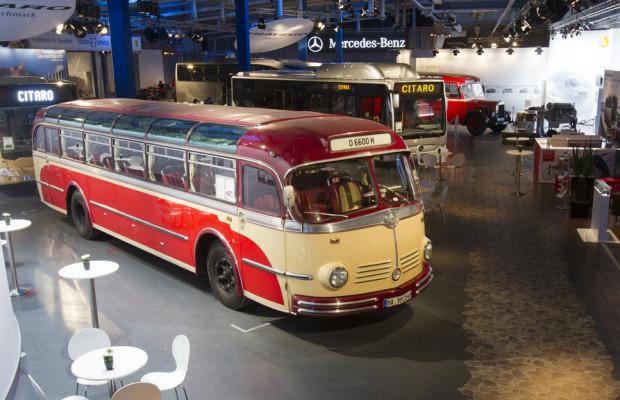 6000 Besucher bei den Mercedes-Benz-Omnibustagen