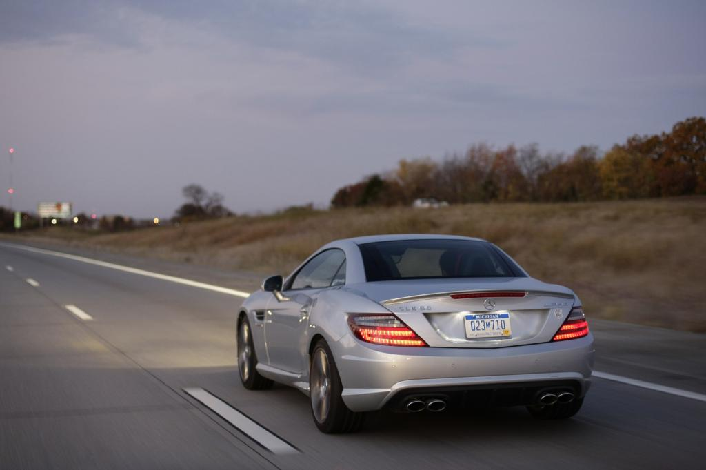72.590 Euro kostet der Mercedes SLK 55 AMG
