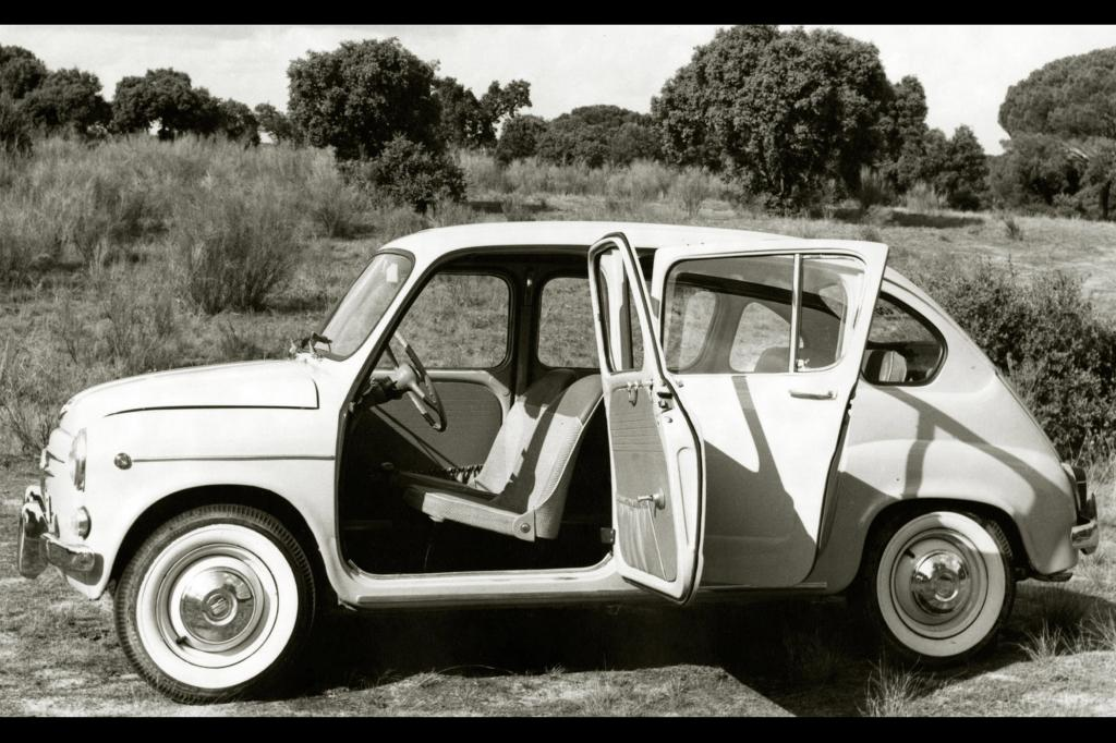 Ab 1964 gab es den Seat 600 auch als Viertürer
