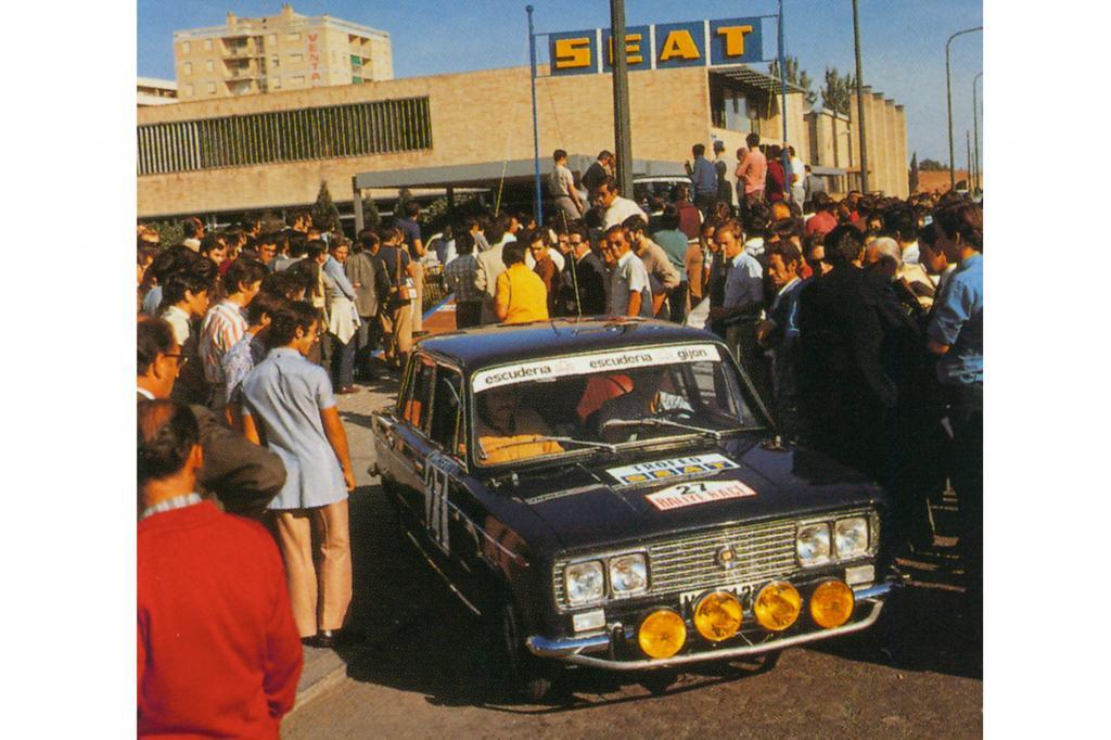 Als Seat feierte der Fiat Rennsporterfolge
