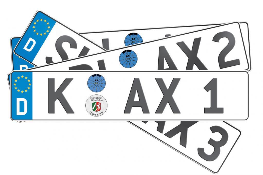 Alte Stadt-Autokennzeichen in Baden-Württemberg erlaubt