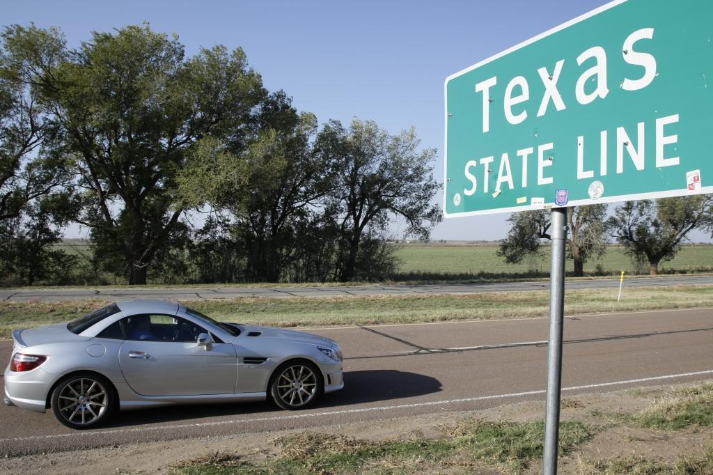 Auch Texas wird passiert