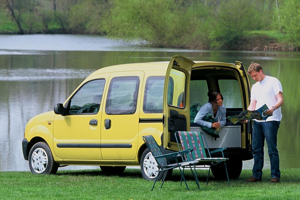 Auch als Campingwagen ist der Kangoo beliebt