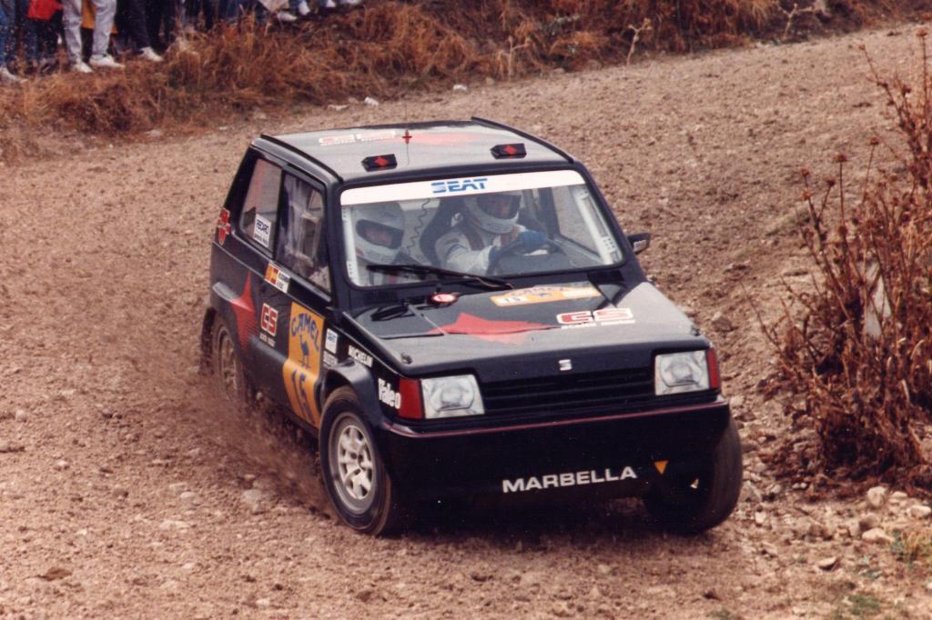 Auch bei Rallyes heimste der Marbelle Lorbeer ein