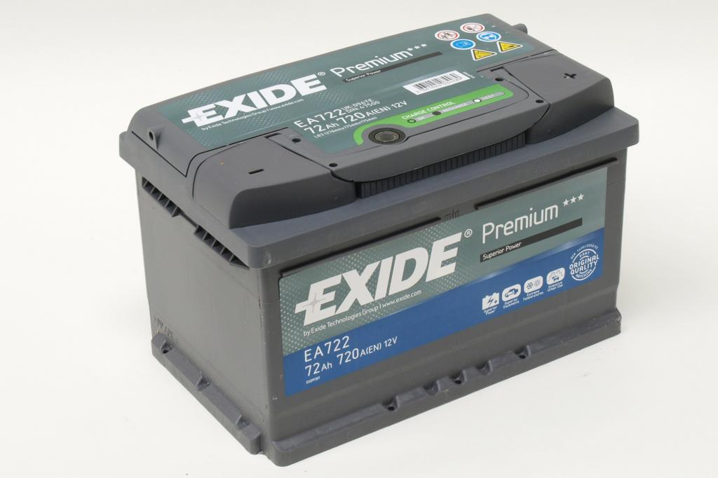 Auch die Exide Batterie hat die Nachprüfung bestanden