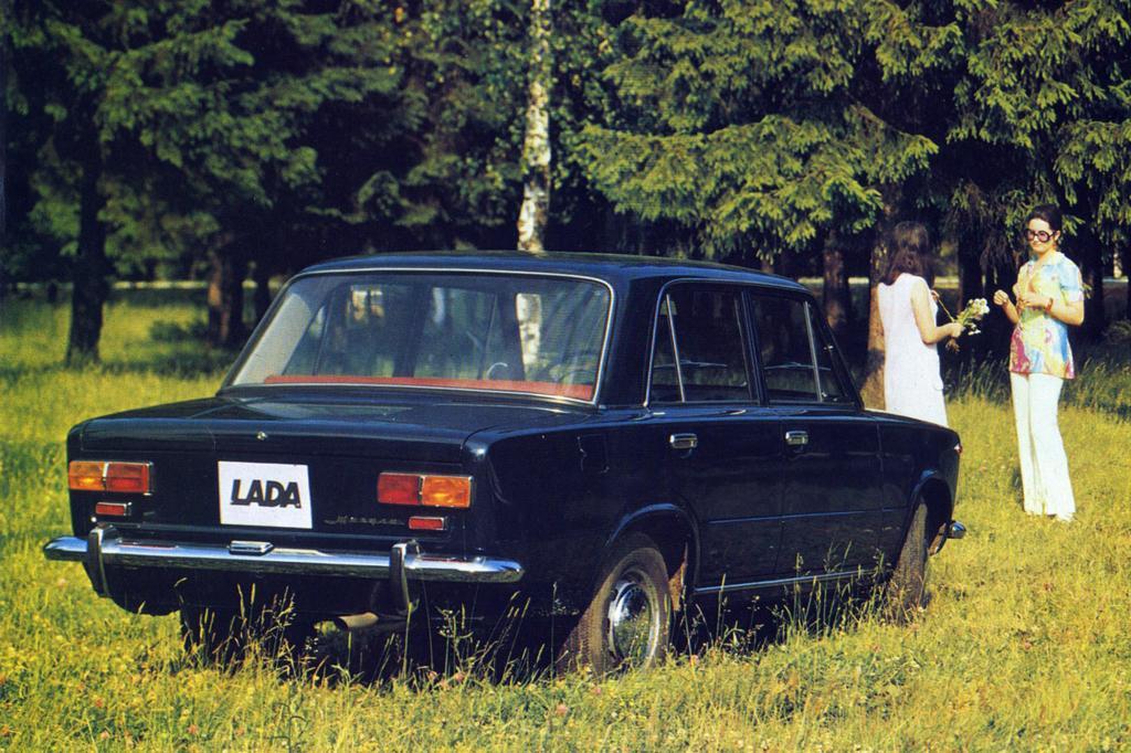 Auch für Lada stand der 124 Pate