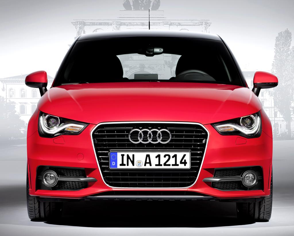 Audi A1 Sportback: Blick auf die Frontpartie des Premium-Kleinwagens.