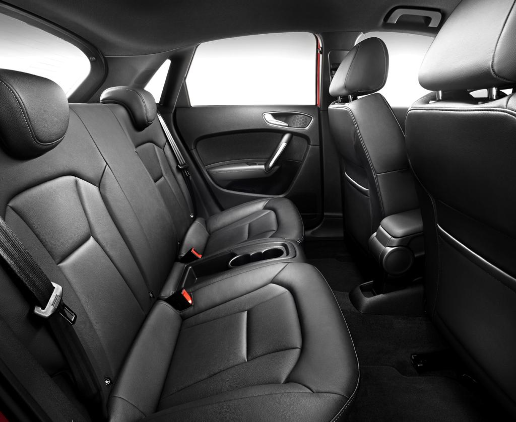 Audi A1 Sportback: Blick auf die Sitzreihe hinten,