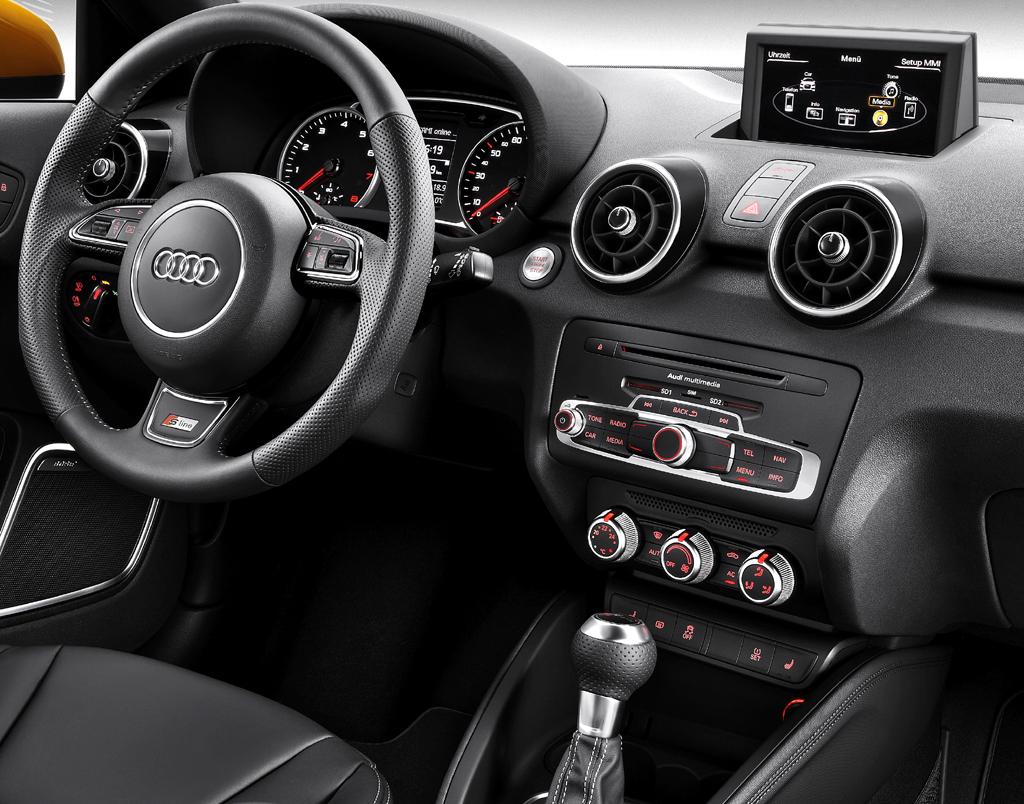 Audi A1 Sportback: Blick ins Cockpit.
