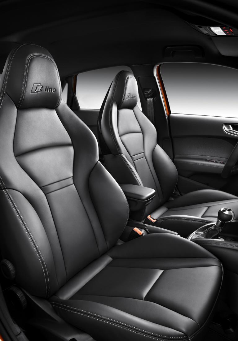 Audi A1 Sportback: Diese zum S-Line-Paket gehörenden Sitze bieten sehr guten Seitenhalt.