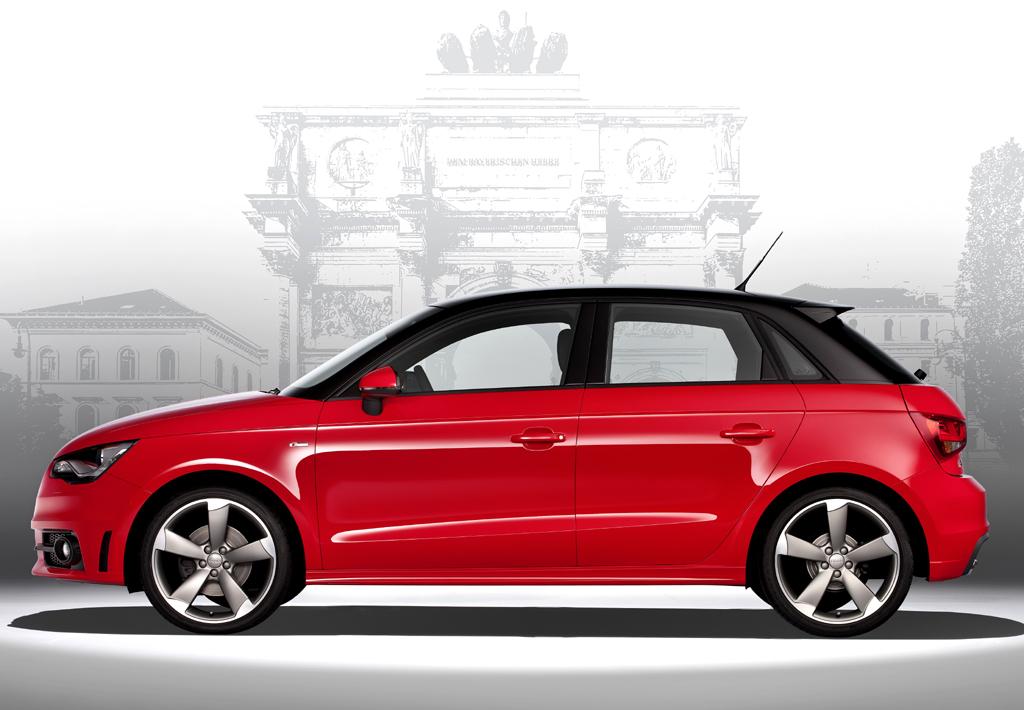 Audi A1 Sportback: Ins Gepäckabteil passen 270 bis 920 Liter hinein.