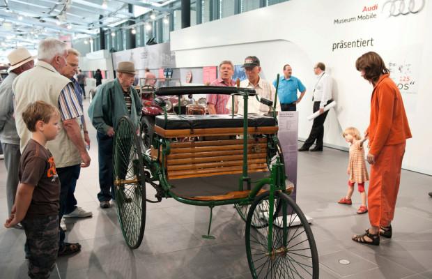 Audi Neckarsulm: Modellautobörse und Oldtimer-Ausstellung