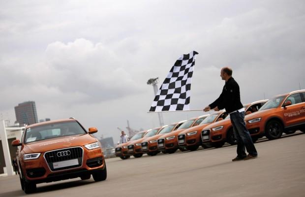 Audi Q3 Trans China Tour 2011 beendet