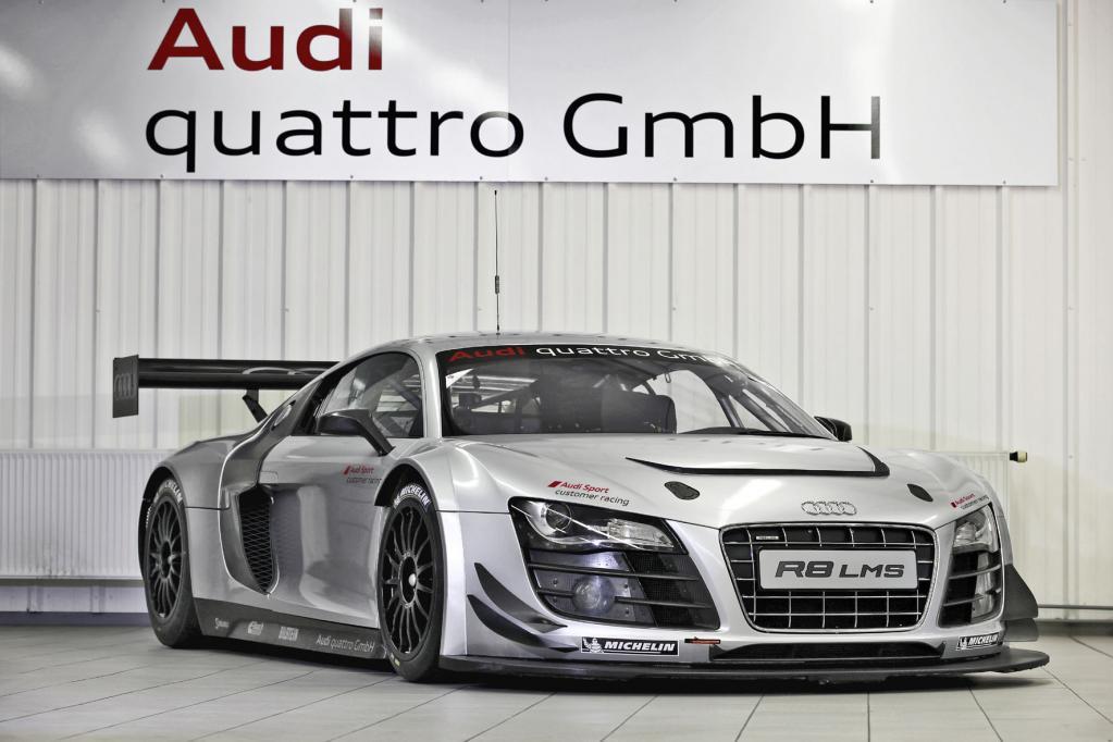 Audi motzt Kunden-Rennwagen auf