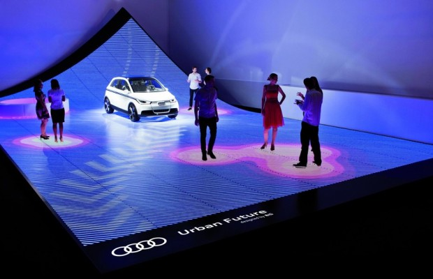 Audi und Bjarke Ingels Group zeigen LED-Installation