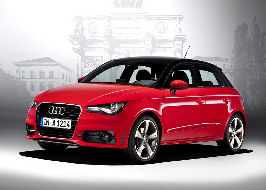 Audi will nun auch beim kleinen A1 mit sportlichem Rücken entzücken