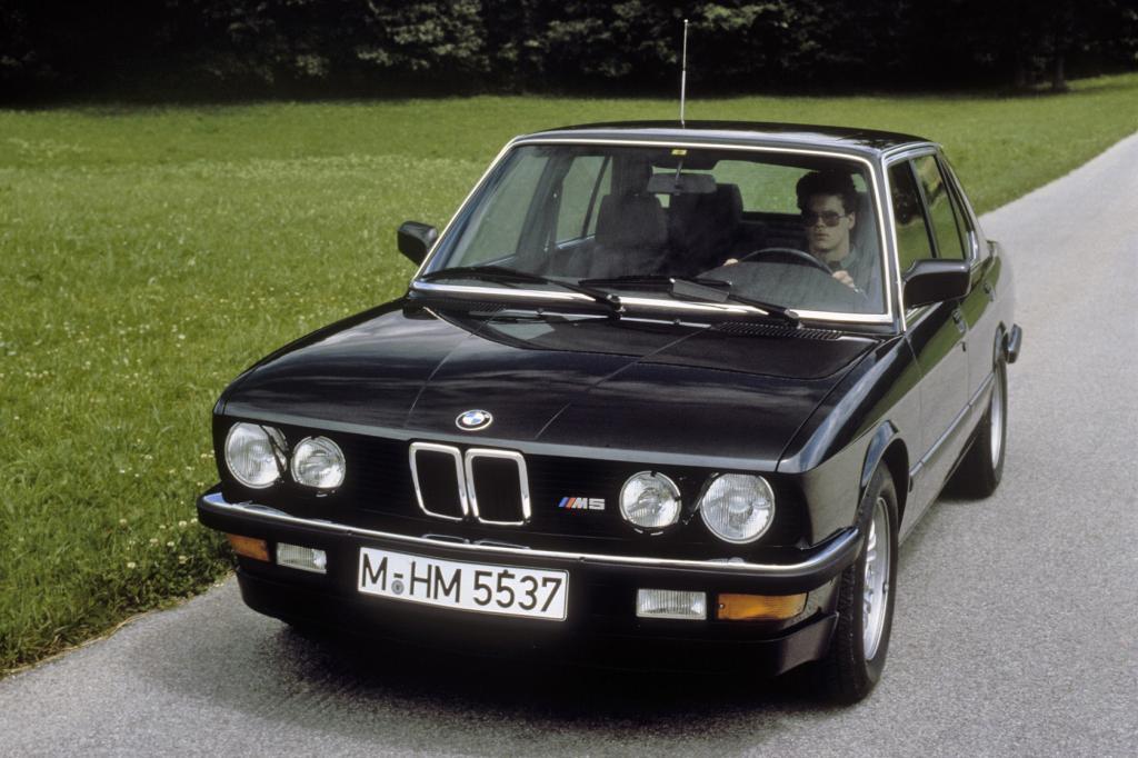 BMW M5 E28, M5 E34 und M1